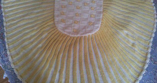 El örgüsü bebek battaniye örnekleri