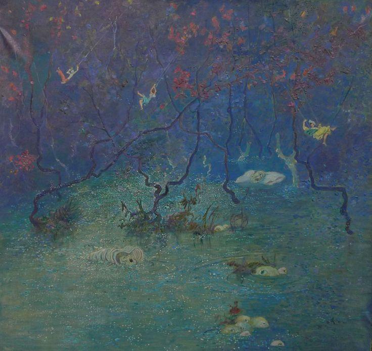 Борис Свешников (1927-1998) - Ночь. 1957