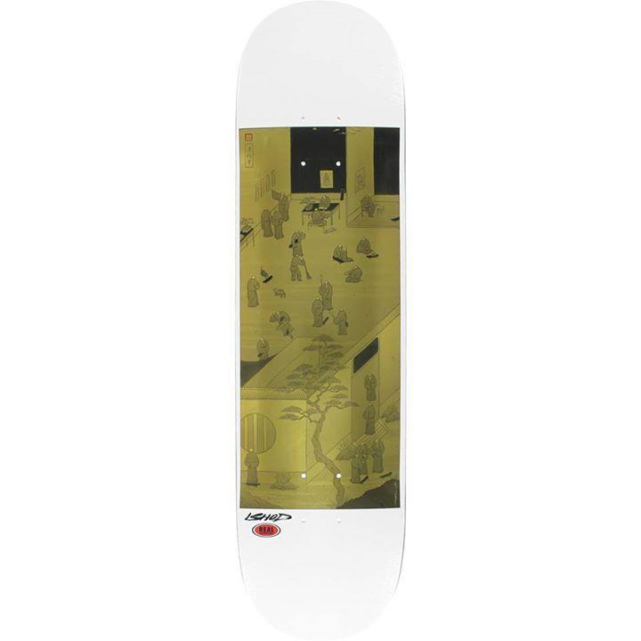 Real Skateboard Deck Ishod Wair Temple Skate 8.06 | snapchat @ http://ift.tt/2izonFx
