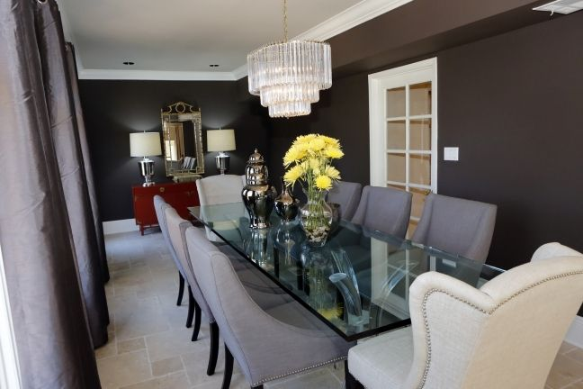 17 best ideas about dark dining rooms on pinterest black for Jeff lewis bedroom designs
