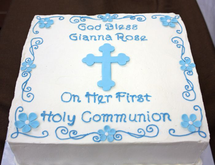 62 best images about first holy communion cakes on for 1st holy communion cake decoration ideas