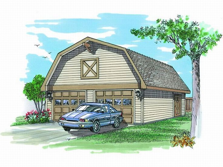 Best 34 Best Garage Plans With Gambrel Roofs Images On 640 x 480