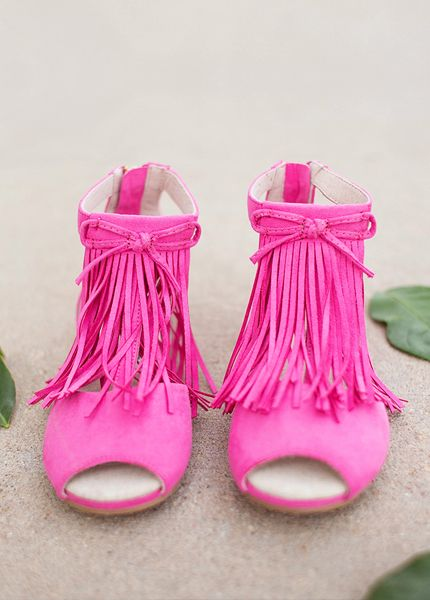 JOYFOLIE kids shoes rock!!! *NEW* Reese in Phlox Pink #pink #boho #fashionista