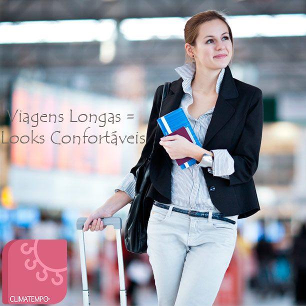 Viagens Longas = Looks Confortáveis http://tempodemoda.climatempo.com.br/blog/2013/12/12/viagens-longas-looks-confortaveis/