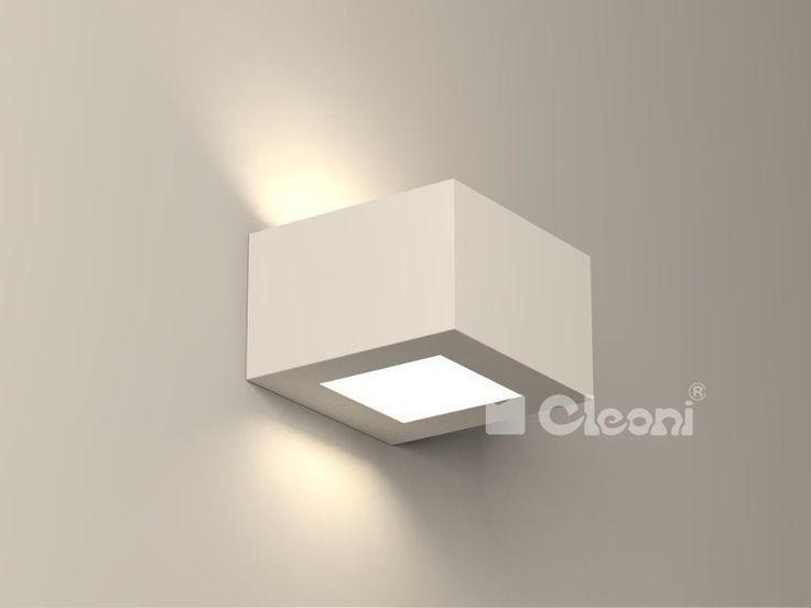 Lampy Cleoni  Korytko 12 Niskie Z Dolnym Szkłem  - Cleoni - kinkiet nowoczesny    #design #promo #lamp #interior #Abanet #oświetlenie_Kraków #Cleoni  KC400g 6870