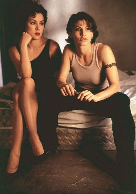 """From Seed of Chucky: """"Bound is on cable. Yeah, Gina Gershon is fingering me right now."""""""