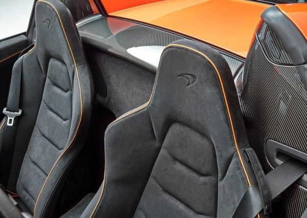 2015 McLaren 650S Spider seat innovation 600x426 2015 McLaren 650S Spider Review Details