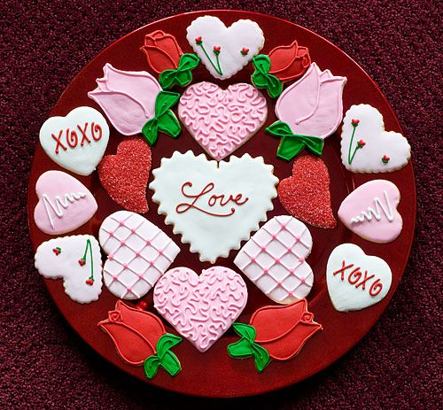 9 best valentine's day cakes / cookies images on pinterest, Ideas