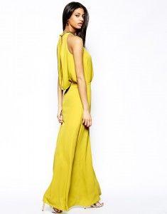 Le più belle proposte Asos primavera estate 2014: abiti corti, longuette e lunghi  Asos vestito lungo con catena sul retro 91,30 euro