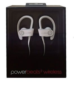 Genuine New Beats by Dre POWERBEATS2 White Wireless Bluetooth in Ear Headphones | eBay