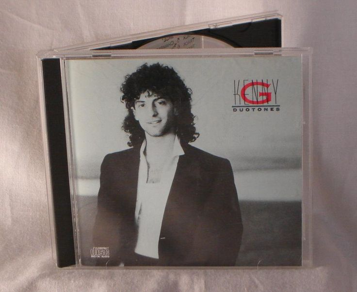 Kenny G - Duotones - Original CD 1986 Arista Records - 10 Tracks of Kenny G smooth Jazz - Very Good Used Condition Cd Disk.