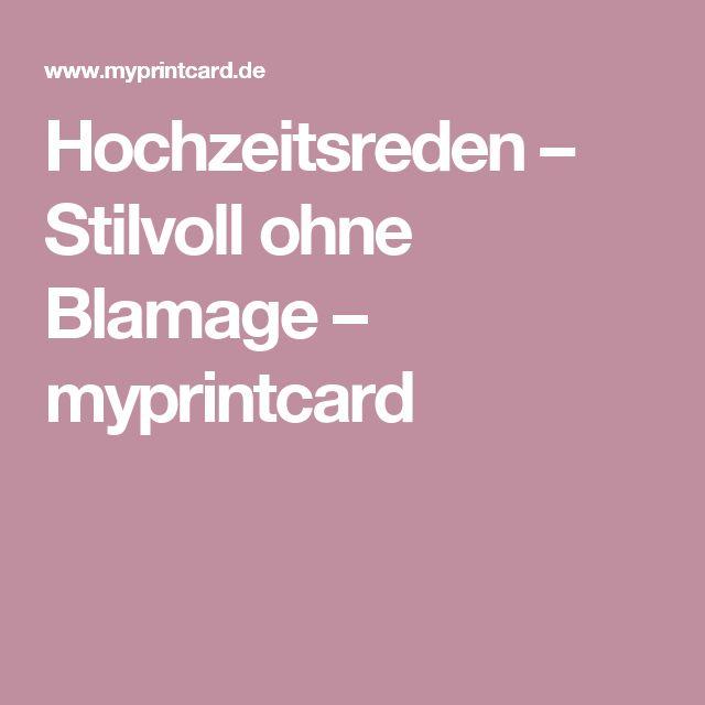 Hochzeitsreden – Stilvoll ohne Blamage – myprintcard