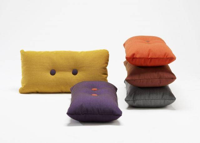 HAY - Dot Cushion 2x2 Steelcut trio