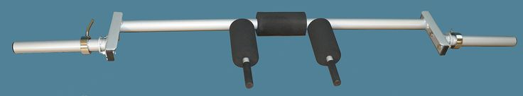 """TDS Econo Safety Squat Bar - Made in the USA. Econo Safety Squat Bar. Thickness of bar - 1 7/8"""" Heavy Wall Pipe. Length - 84"""". Capacity - 400 lbs."""