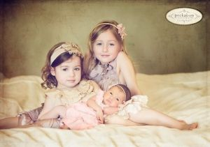 newborn and 3 sibling poses - Google Search