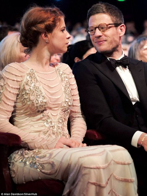 James Norton & Jessie Buckley at the Olivier Awards.I love them together! I think she's terrific, such a lovely actress and singer. :)