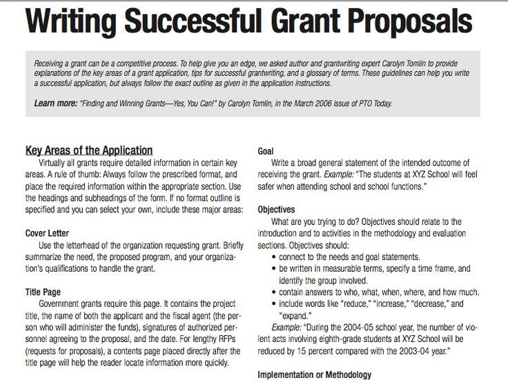 Best Tips For Writing Grant Applications Images On