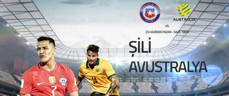 Şili – Avustralya #KonfederasyonKupası B gurubunda bir diğer mücadelede #Şili ile #Avustralya arasında oynanacak. #Avustralya'nın kazanması halinde zirve durumunun değişebileceği bu son maçta Şili ise gurup lideri olabilmenin hesapları içerisinde. Zorlu mücadelede maç esnasında #Canlıbahis seçeneklerimiz ile #Enyüksekbahisoranları #Betend'de sizlerle. Şili (1,32) – Beraberlik (5,05) – Avustralya (8,15) Bugün: 18.00 http://betend900.com