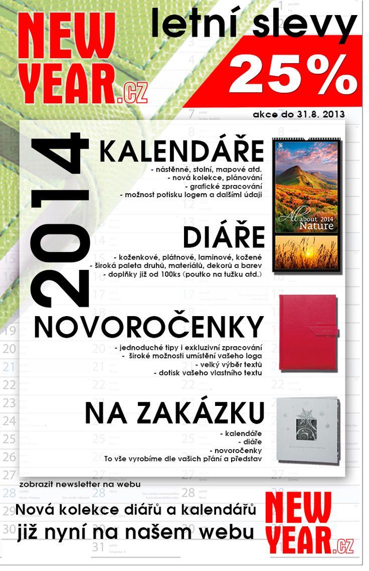 Reklamní kalendáře, diáře, novoročenky http://www.newyear.cz/cz/novorocenky-kalendare.html