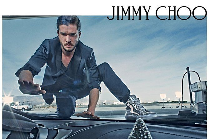 Photo: WWD Kit Harington and his resting bitch face continue to model for Jimmy Choo, and Jimmy...