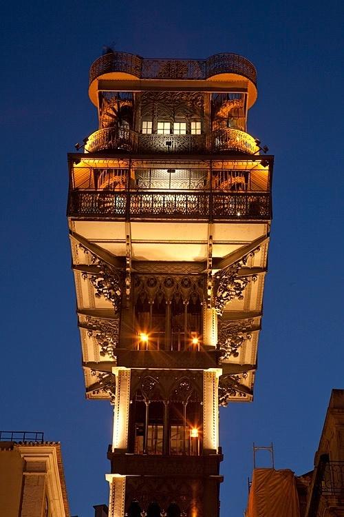 The Observation Tower, Lisbon, Portugal