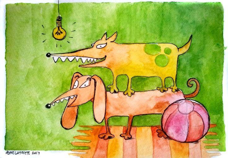 Raining Dogs by Yuujin on deviantART
