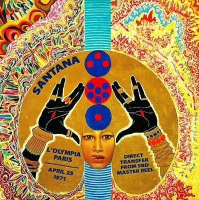 Santana - Concert Paris - 1971