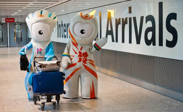 London 2012: Mascots Wenlock and Mandeville
