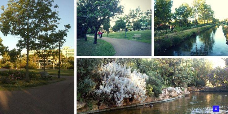 Parco Urbano di Olbia, considerato fra i più belli d'Italia.