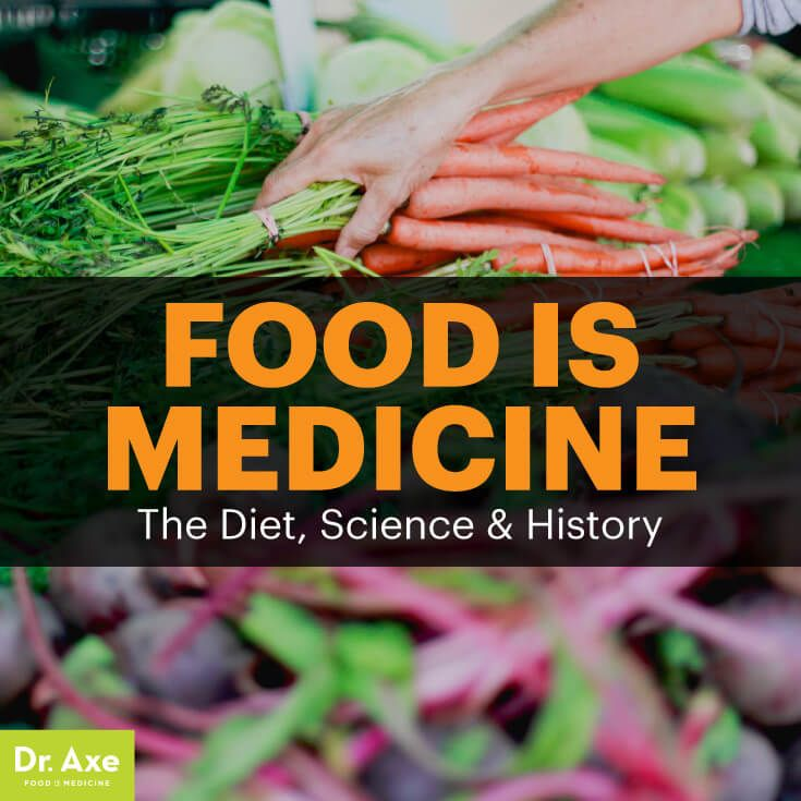 Food is medicine - Dr. Axe http://www.draxe.com #health #holistic #natural