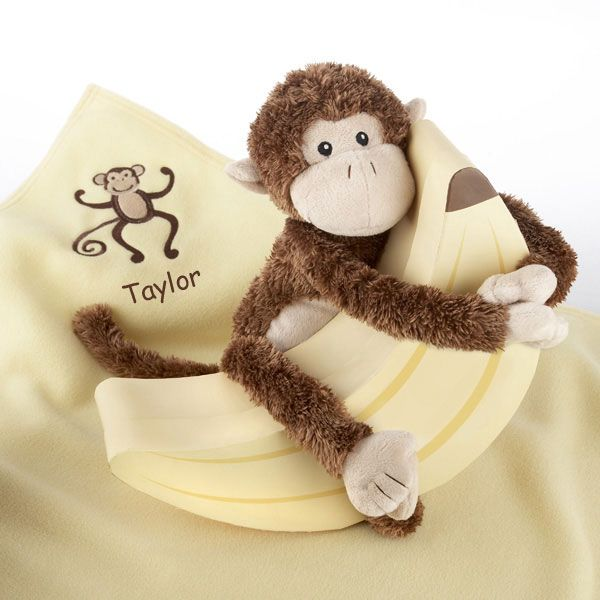 19 best safari babies images on pinterest jungle safari animal monkey magoo and blankie too baby gift set with the personalized lovie blanket negle Images