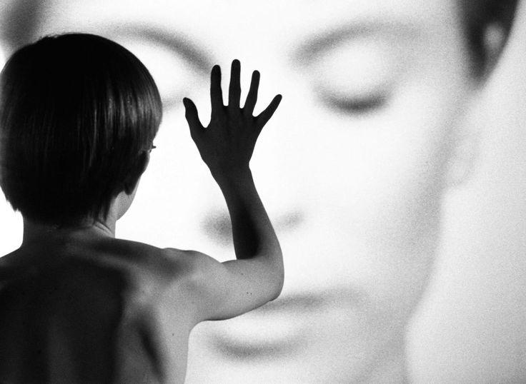 Fotogramma dal film Persona di Ingmar Bergman, 1966