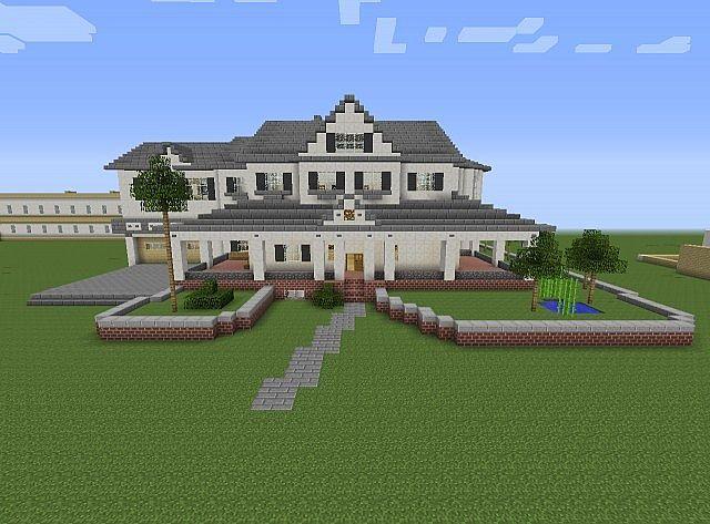 minecraft quartz mansion tutorial