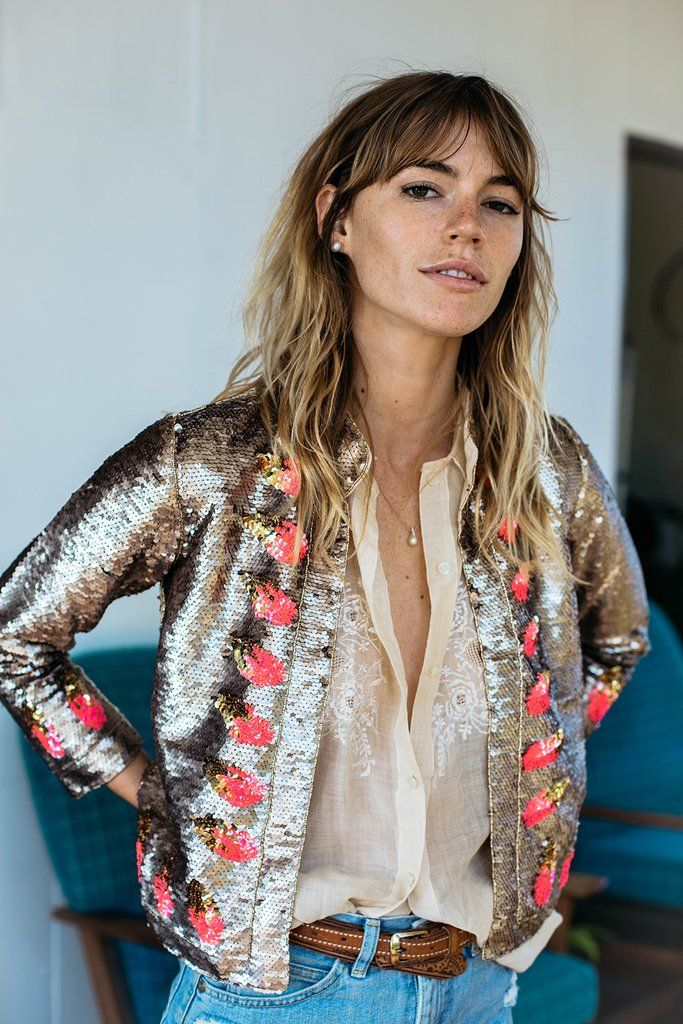 Light My Fire Sequin Jacket - Gold - Chasing Unicorns