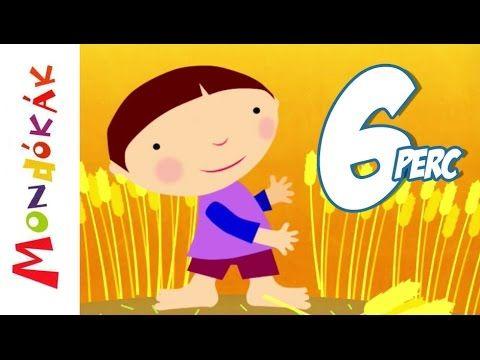 Mondókák egybefűzve 1. rész (mondóka, rajzfilm gyerekeknek) - YouTube