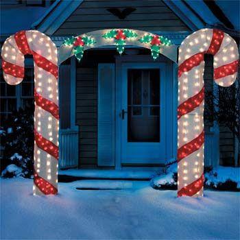 Candy Cane Lighting for Christmas Celebration