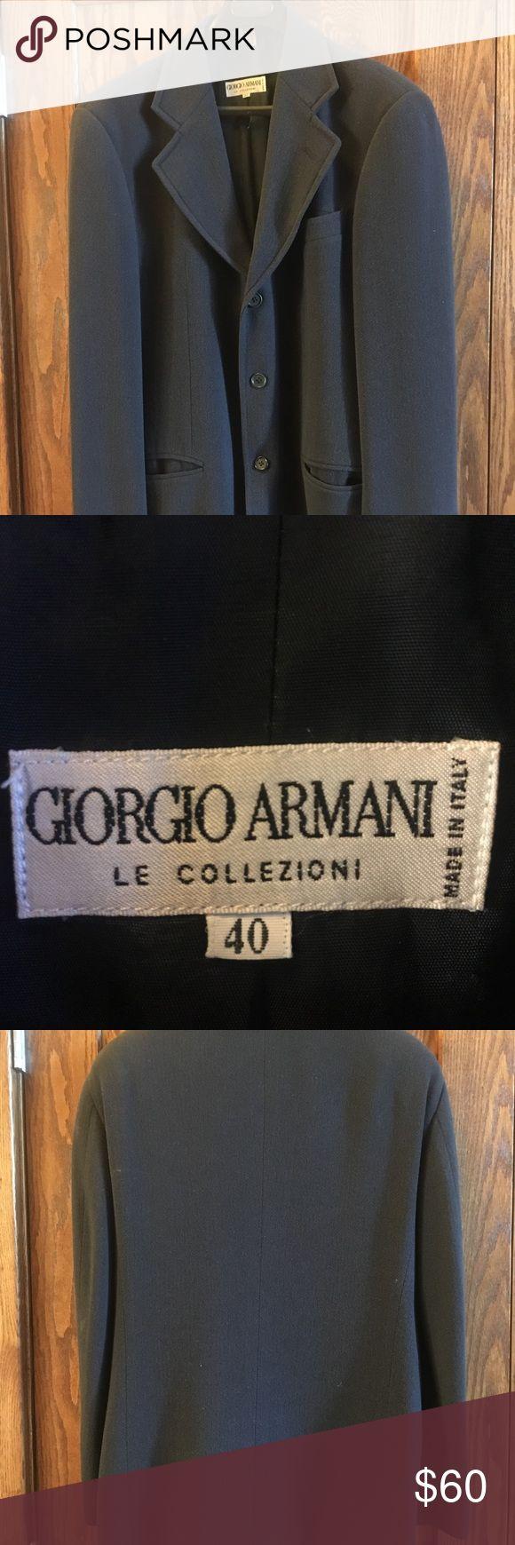 Giorgio Armani Men's navy sport coat or blazer Giorgio Armani Men's navy Sport coat. Size Men's 50 regular. Giorgio Armani Suits & Blazers Sport Coats & Blazers