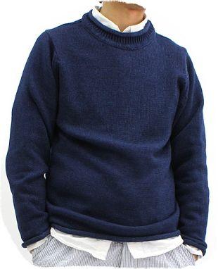 Indigo men's jumper