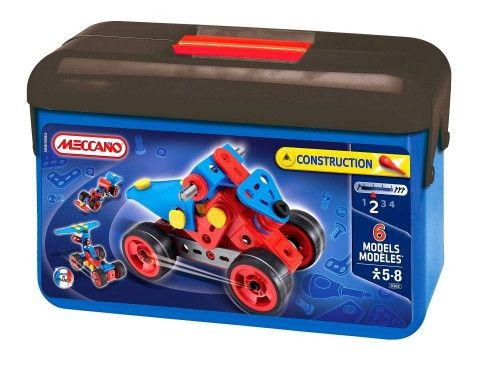Great first set to build on. Fun and learning for any child.  MECCANO Toolbox Advanced#toys2learn #construction #meccano #earlylearning