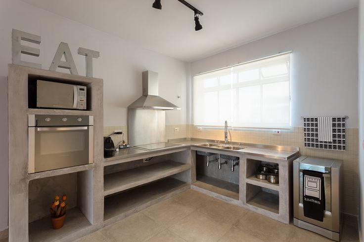 12 best images about Cozinhas on Pinterest  Home, Search and Stainless steel # Bancada Para Cozinha De Alvenaria