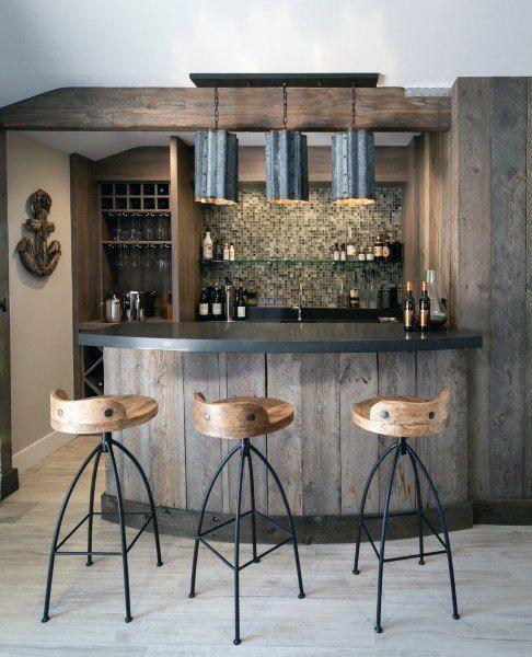 Top 70 Best Rustic Bar Ideas – Vintage Home Interior Designs