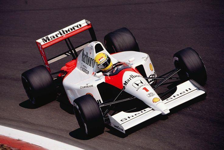 Ayrton Senna (Mclaren-Honda) Grand Prix d'Italie - Monza - 1991- Formula 1 HIGH RES photos (Old and New)