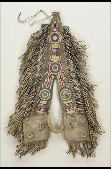 Horse crupper: probably Red River Metis (attributed),circa,1850. National Museum of the American Indian,Washington,D.C. http://www.nmai.si.edu/searchcollections/item.aspx?irn=198412&hl=443&page=3