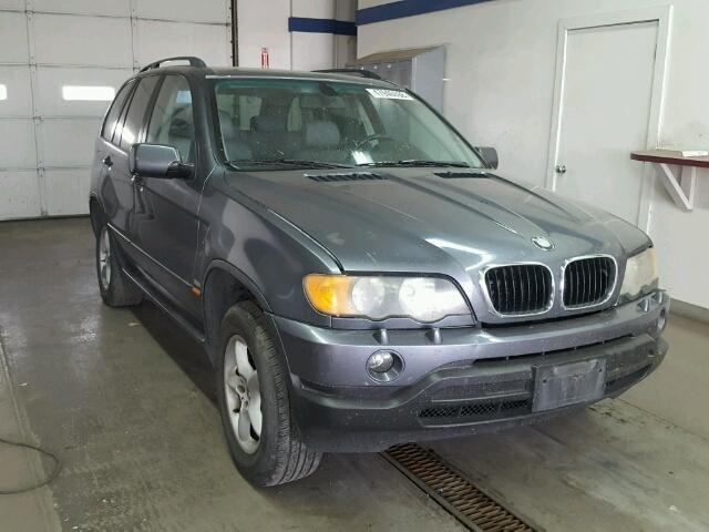 2003 Bmw X5 3 0l For Sale At Copart Auto Auction Place Your Bid