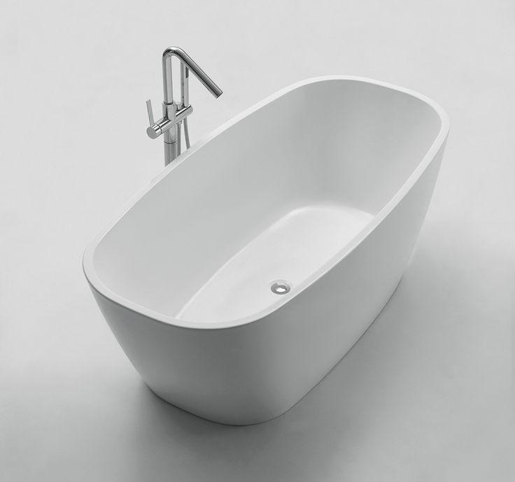 Produktbeskrivelse:   Celeste Ciracusa badekar er en frittstående rektangulær modell med avrundede ender i 170 cm lengde. Badekaret leveres med justerbare ben som er skjult under akrylkaret.  Badekaret i hvit akryl har høy slitestyrke med en blank overflate som gjør det hygienisk. Justerbare føtter på stålramme som er skjult under badekaret, tåler stor belastning og gir mulighet for tilpasning ved fall på badegulvet. Badekaret har en rektangulær utforming med avrundede ender og myke…