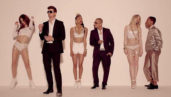 New VIdeo: Robin Thicke Ft. Pharrell