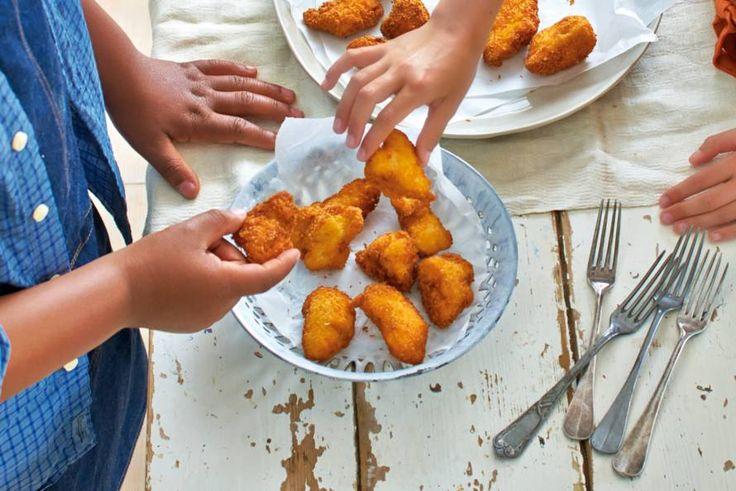 Mmm... Stukjes kip in een krokant jasje - Recept - Allerhande