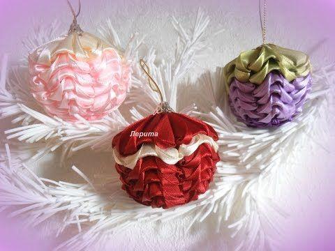 Manualidades para Navidad, Decoraciones de Navidad bolas decoradas para Navidad y Año Nuevo - YouTube