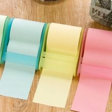 Blocs - Notes ceinture titulaire du ruban adhésif collant Notes créative post - it Notes autocollantes Notes cahiers(China (Mainland))