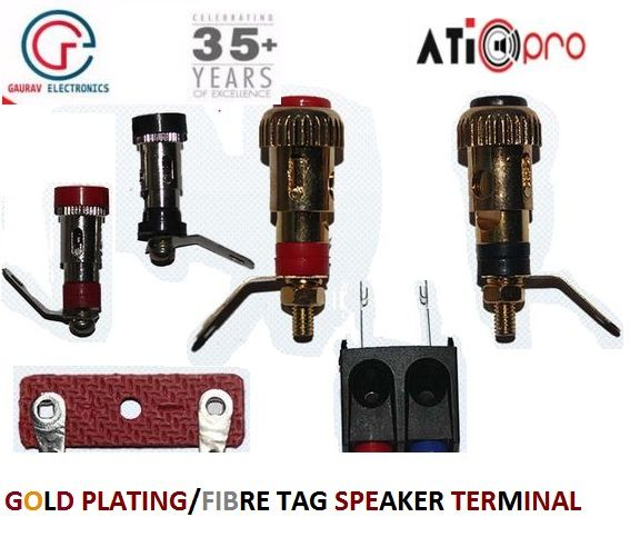 By Speaker parts from #GauravElectronics as per varieties of #SpeakerParts and related components manufacturer and whole seller exporter so we have a different types of speaker terminals in very cheap prices. http://goo.gl/JvD6mD